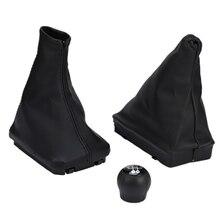 3PCS/1Set for Opel CORSA C 01-06 Gear Lever Boot and Handbrake Grips Car Anti Sl