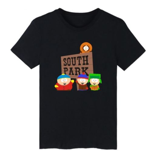 New Sitcoms Cartoon TV Series South Park 3D T-Shirt Summer Funny Unisex S-7XL 100% cotton tee shirt, tops wholesale tee image