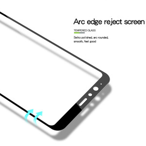 Image 5 - 3D Full Cover Tempered Glass For Huawei PSmart Screen Protector For Huawei P Smart Protective Glass Film On FIG LX1 LX2 LX3 LA1