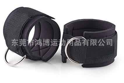 Leg Training Fitness Ankle Ring Leggings Buckle Ankle Strap Elastic Band Pull Rope Accessories Fitness Ankle Buckle