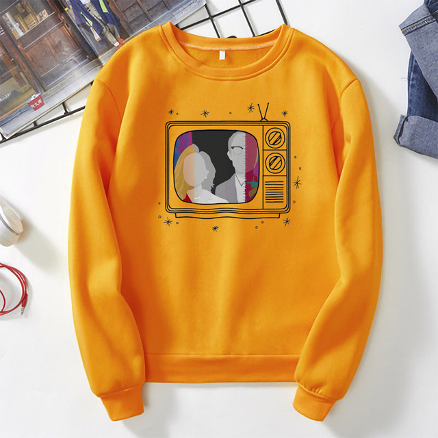 New Tv Show WandaVision Sweatshirt An Unusual Couple Wanda TV Graphic Crewneck Pullover Scarlet Witch Hoodie Hipster Tops 6