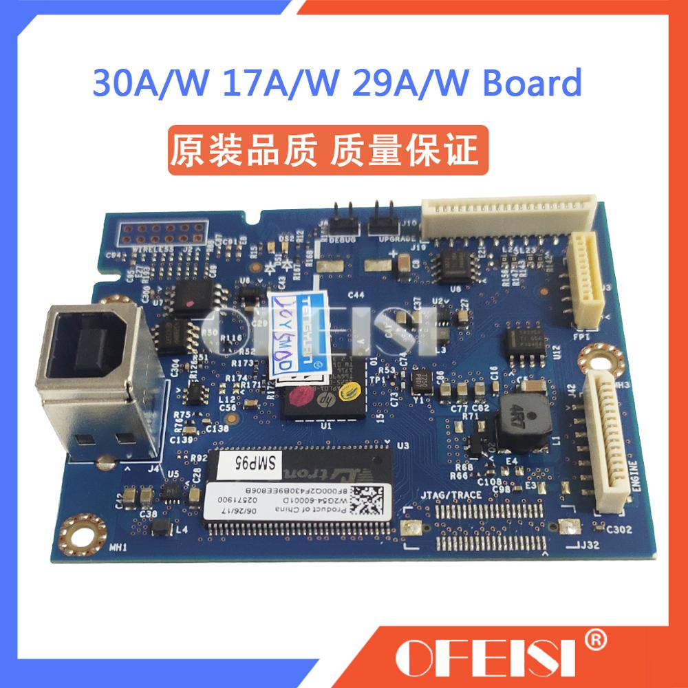 Original motherboard mainboard W2G54-60010 for <font><b>HP</b></font> M30A 30W 17A 17W 16A 16W 29A 29W <font><b>28A</b></font> 28W formatter board printer parts image