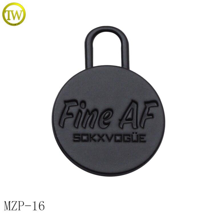 MZP16new design handbag accessories zipper puller bag metal zip puller