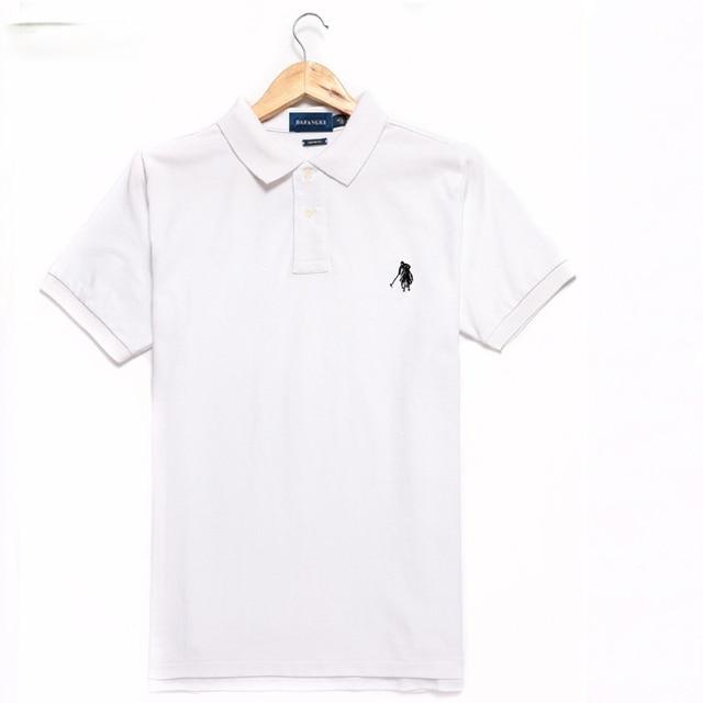 Top grade nova marca de logotipo do desenhista verão camisas polo com manga curta turn down collar casual moda roupas tamanho grande 5xl 1
