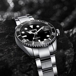 Image 2 - 2019 Top Brand Luxe Heren Horloge 30M Waterdicht Datum Klok Mannelijke Sport Horloges Mannen Quartz Casual Polshorloge relogio Masculino