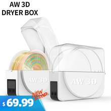 Aw 3d новейшая печатная коробка для сушки нити держатель хранения