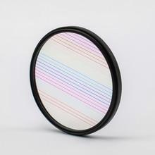 Sheji Rainbow Blue Streak Filter Flare  Camera Lens