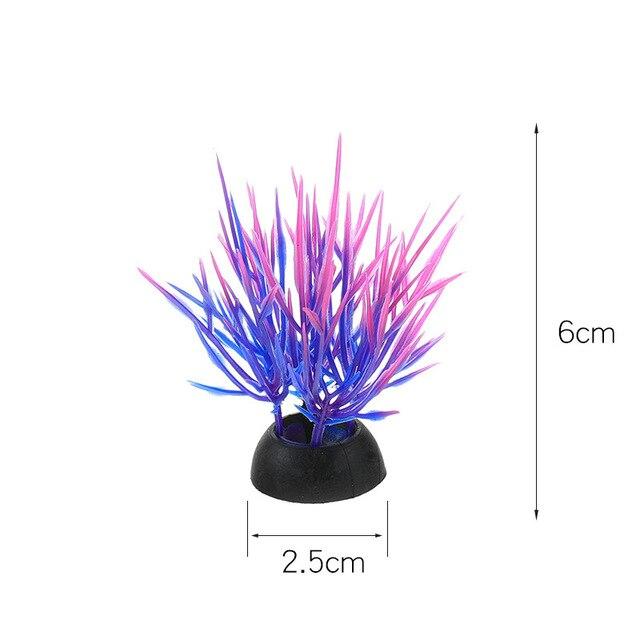 Фото пвх аквариум декоративная имитация искусственный нарфил растение