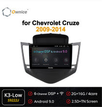 Ownice 4core 2din Android 9.0 voiture dvd GPS pour chevrolet Cruze 2009 2010 2011 2012 2013 360 panoramique DSP 4G LTE SPDIF autoradio(China)