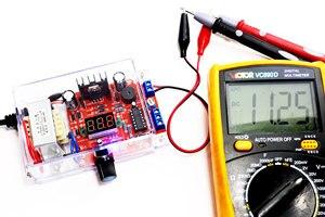 Image 5 - DIY kit Us stecker 110V DIY LM317 Kit mit fall