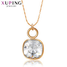 Xuping ювелирные изделия элегантное позолоченное ожерелье с
