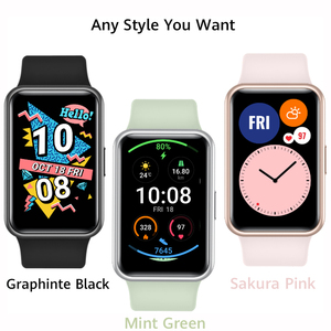 Новое поступление, глобальная версия, часы HUAWEI, подходят для умных часов, Быстрая тренировка, анимация, кислородные часы, подходят для 10 дней...
