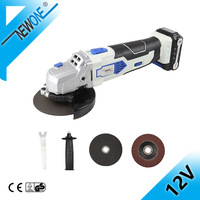 NEWONE 12V Wood Grinding Machine Electric Metal Angle Grinder 125mm Variable speed