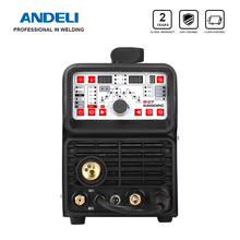 ANDELI MIG Welding Machine 220V MCT-520DPL/DPC MIG TIG MMA CUT Pulse Cold Clean 5 in 1 TIG Welding Machine MIG Welder TIG Welder
