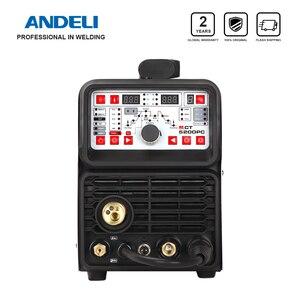 ANDELI MIG Welding Machine 220V MCT-520DPL/DPC MIG TIG MMA CUT Pulse Cold Clean 5 in 1 TIG Welding Machine MIG Welder TIG Welder