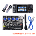 BIGTREETECH SKR MINI E3 V1.2 интегрированный TMC2209 UART с TFT24 V1.1 комплект дисплея 12864 LCD для SKR V1.3 Ender 3 PRO 3D принтера