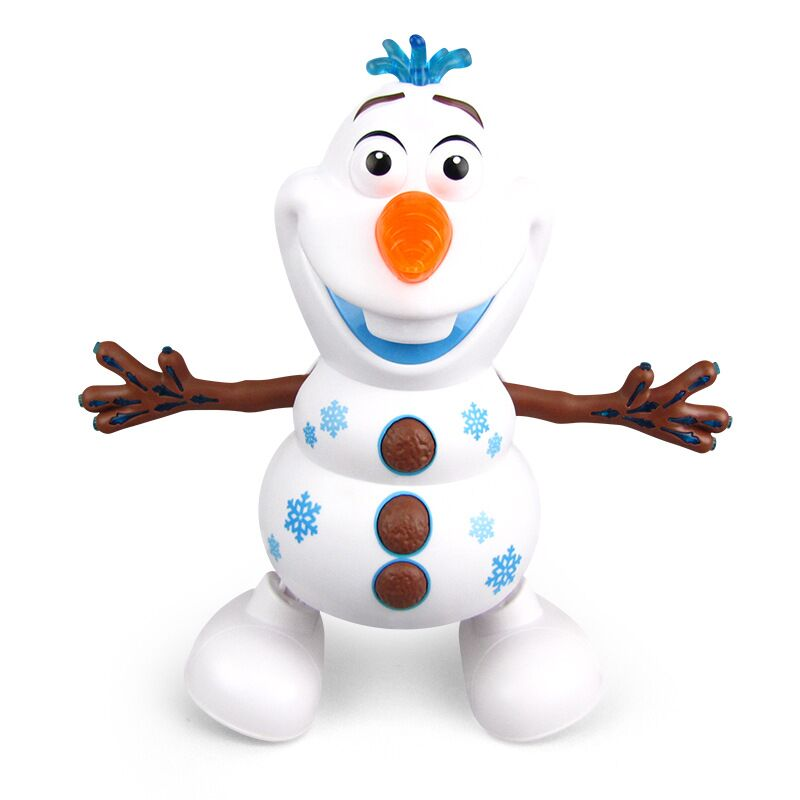 Pet Olaf Toy New Robotic Cute Animal Electronic Walking Olaf Puppy Kids Toy With Music Light Baby Girls Birthday 2019 Frozen 2