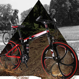 "Image 5 - وولف فانغ دراجة 21 سرعة 26 ""بوصة دراجة هوائية جبلية قابلة للطي دراجة الطريق الدراجات العلامة التجارية للجنسين كامل إطار مقاوم للصدمات الدراجات"