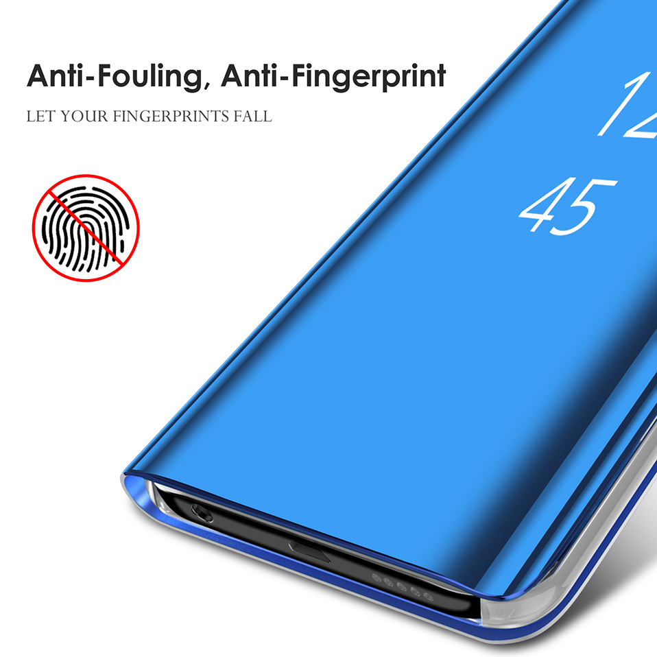 mirror flip cover for samsung galaxy s8 s9 plus note 8 9 full cover (6)