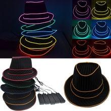 Fedora hat светодиодный головной убор el новый дизайн светильник
