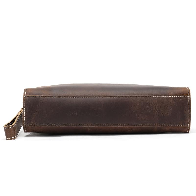 AURAY Mens Men Genuine Leather Wallet Male Men's Wallet Of Leather Men Money Leather Coin Purse Card Holder Wallet Clutch Bags