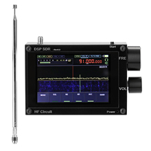 Ricevitore SDR da 50kHz-200MHz schermo da 3.5 pollici touch IPS schermo HAM Software definito Radio Malachite DSP Software definito Radio