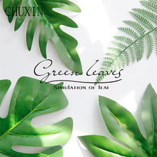 Background Fake-Plants Home-Decoration Decorative-Accessories Artificial-Tree-Leaves