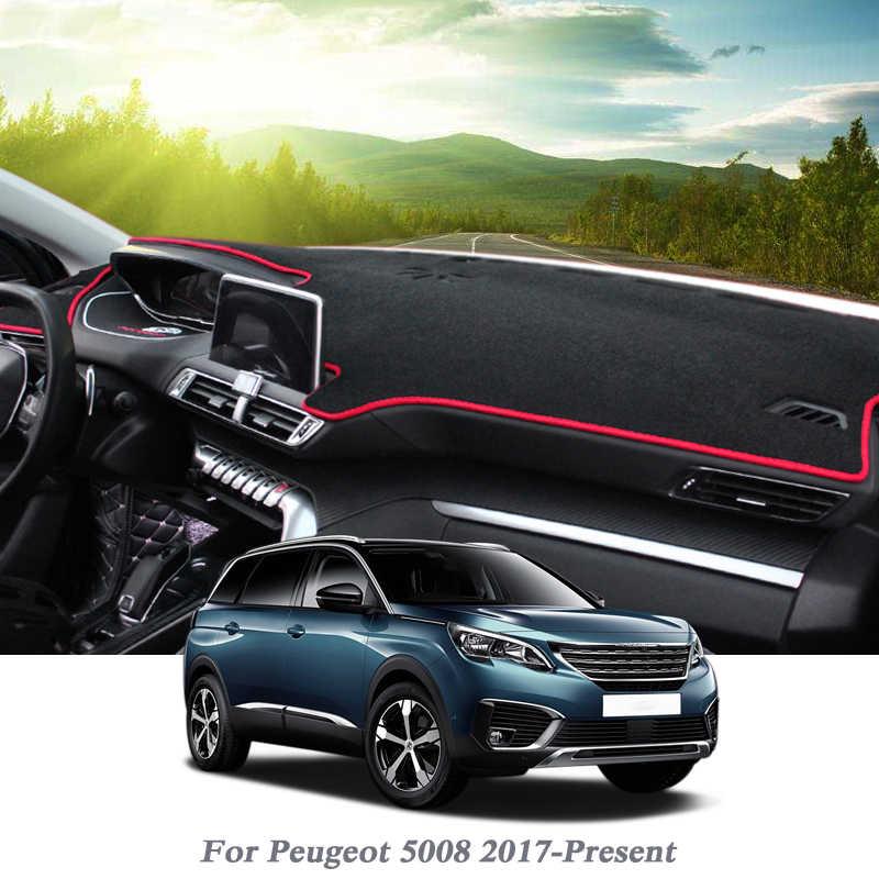 Tapis De Protection Pour Peugeot 5008 Tapis De Protection Pour Tableau De Bord De Style Voiture Coussin D Ombre Tapis Rose Pour Accessoires D Interieur Rhd Lhd Aliexpress