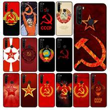 Yinuoda – coque de téléphone portable avec Photo personnalisée, étui souple avec drapeau de l'union soviétique, pour Xiaomi mi 5 A 6 6A 7 7A Note 6 7 8 mi 5 A1 A2 Max2