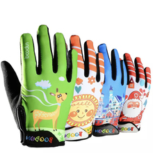 4-10 Years Old Kids Full Finger Cycling Gloves Skate Sport Mtb Riding BMX Mountain Bike Bicycle Gloves for Boys and Girls boodun 4 10 years old kids full finger cycling gloves skate sport mtb riding bmx mountain bike bicycle gloves for boys and girls