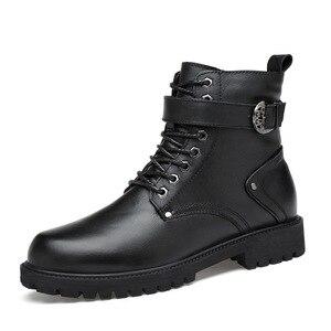 Image 3 - 39 46 mannen laarzen Antislip 2019 Comfortabele warme mannen winter schoenen # NXZY1098