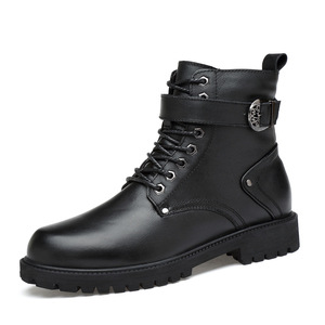 Image 3 - 39 46 men boots Non Slip 2019 Comfortable warm men winter shoes #NXZY1098