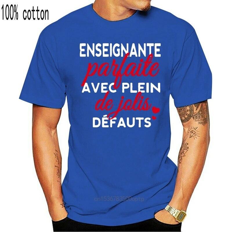 T shirt parfait pour homme et femme, parfait pour enseignant, Avec De Jolis défauts  