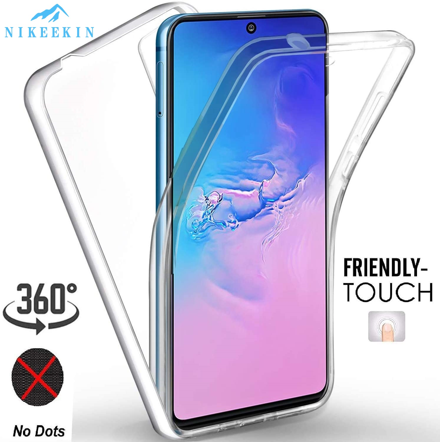 360 Full Body Case For Huawei Y9S P Smart Pro 2019 Shockproof Cover For Honor 9X Premium STK-LX1 P Smart 2020 Double Clear Case