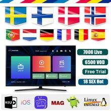 Full world europe IPTV Subscription adult iptv Spain Sweden brazil tv b