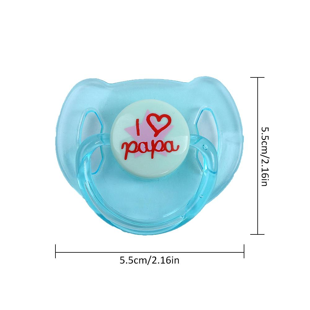 Reborn Doll Supplies Dummy Pacifier+Magnet For Reborn Baby Kits Replace
