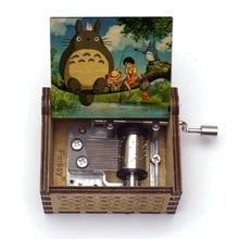 Music-Box Gift Birthday-Gift Totoro Children's Girl Print Tonari Large-Stock Hand-Ed