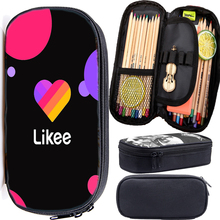 Russia Style Likee Pencil Case for Boys Girls LIKEE Statione