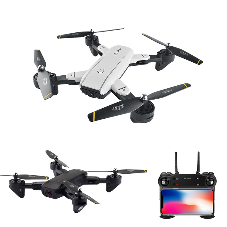 Sg700 Folding Unmanned Aerial Vehicle Optical Flow Double Camera Set High Quadcopter Real-Time Aerial Remote-control Aircraft