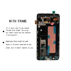 Image 4 - 5,7 100% Оригинальный ЖК дисплей для SAMSUNG Galaxy Note 5, ЖК дисплей с сенсорным экраном для SAMSUNG Note 5 Note5 N920A N9200 SM N920 N920C