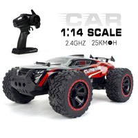 KY 2011A 1/14 Big Foot RC Car 2WD Crawler RC Off road Car 2.4G High Speed RC Car Lightweight RC Car Toys for Kids RTR