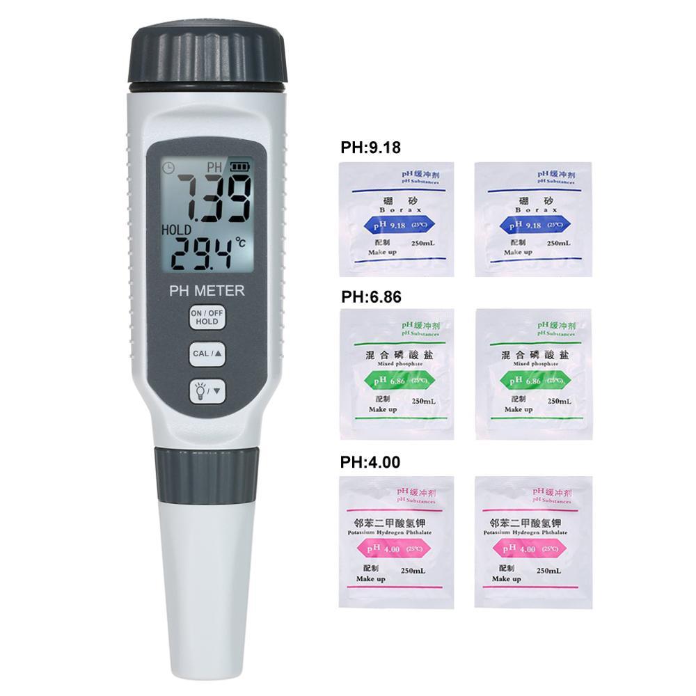 PH-тестер PH818, профессиональный портативный измеритель качества воды и кислотности в аквариуме