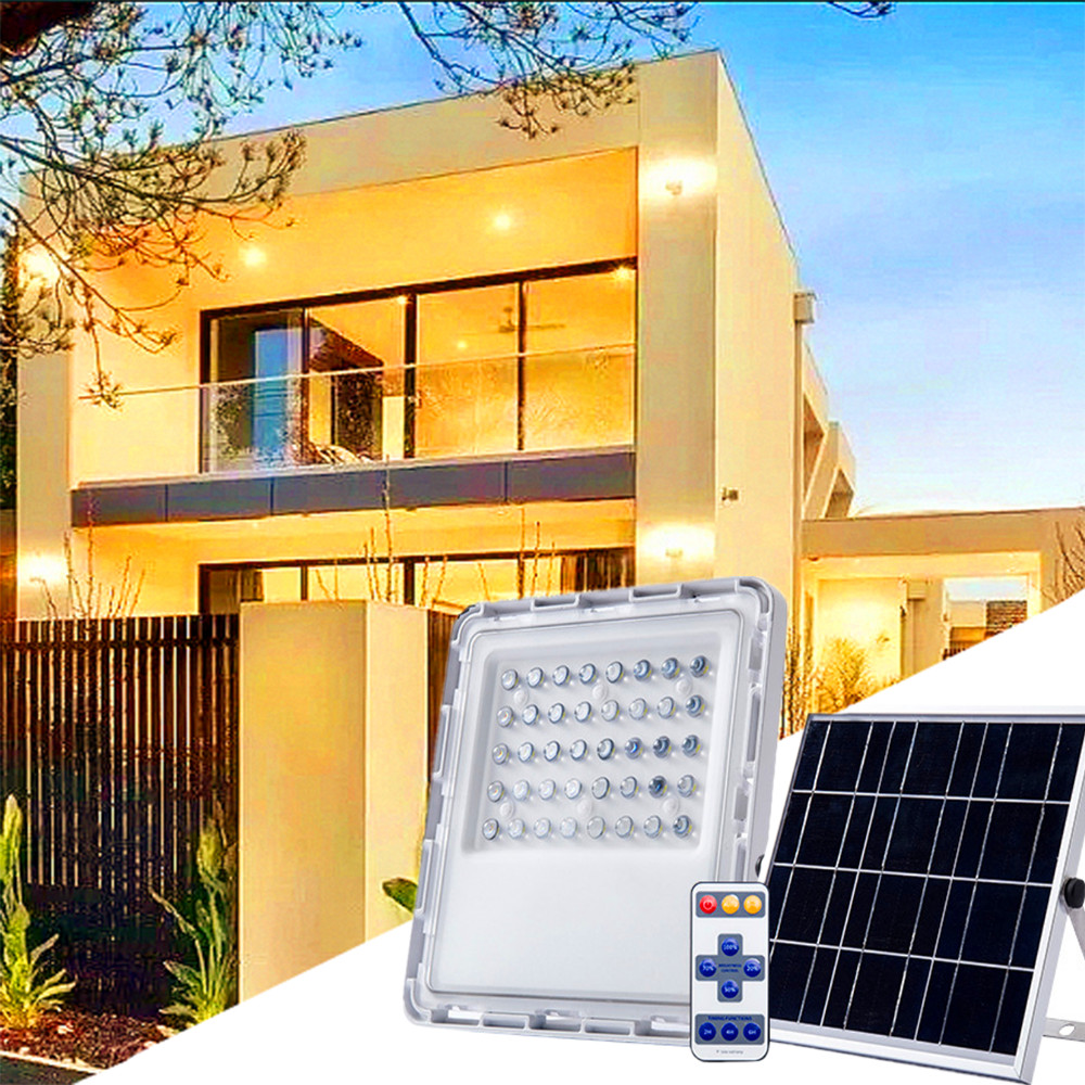 40LED Solar Spotlight Ourdoor Solar Power PIR Motion Sensor Wall Lamp With Remote Control IP67 For Garden Path Count Street Park|Solar Lamps| |  - title=