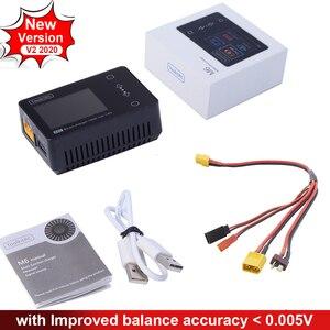 Image 2 - ToolkitRC M6 2020 V2.0 Battery Balance Charger 150W 10A DC Output for 1 6S Lipo LiHV Life Lion NiMh Pb Cell Checker Servo Tester
