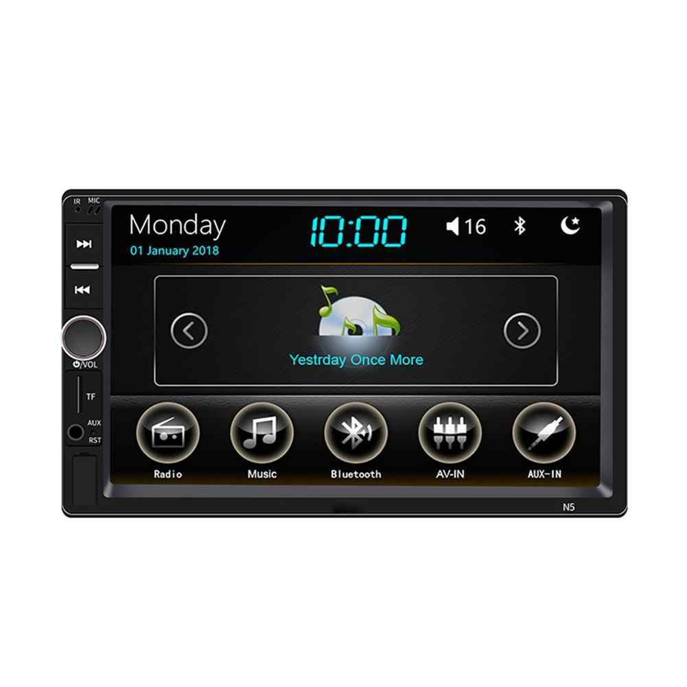 7 インチ 2 Din タッチスクリーン Bluetooth ステレオラジオ車デュアルスピンドル MP5 プレーヤーのための 360 度パノラマ画像ミラーリンク