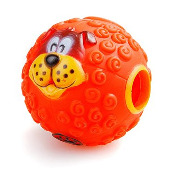 3 Colors Pet Snacks Leaking Food Ball Dog Molars Puzzle Strange Ball Missing Food Bite Sounding Toy image