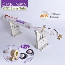 Лазерная трубка Startnow 40 Вт CO2, лазерная стеклянная лампа для лазерного блока питания, гравер, детали машины, оборудование для резки труб, марк...