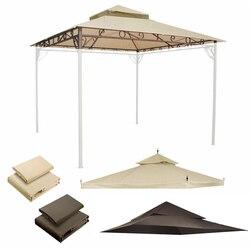 مظلة في الهواء الطلق مقاوم للماء استبدال الغطاء 2-الطبقة لإطار Madaga جودة عالية مناسبة للأحداث الفناء الخلفي