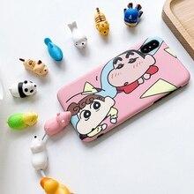 אביזרים לטלפון סלולרי כבל מגן עבור Huawei P20 לייט P חכם Mate 20 פרו סמסונג A7 2018 מקרה כיסוי עבור iphone 7 X Xr 6 S