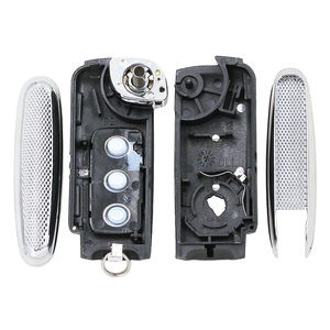 Для Bentley Стиль серебристой стороной изменение откидная оболочка ключа дистанционного управления 3 кнопки дистанционного ключа для V W B5 пульт дистанционного ключа оболочки|Ключ от авто|   | АлиЭкспресс
